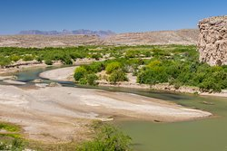 View of the Rio Grande from the Restaurant