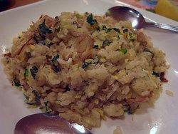 小松菜とジャコの焼き飯
