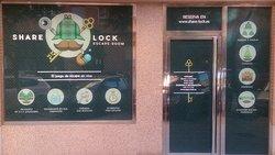 Share Lock Escape Room