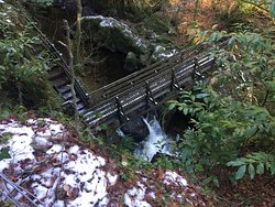 The Double Bridge of Rumbling Bridge