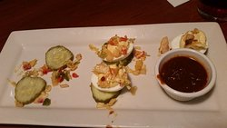 Nashville Hot Deviled Eggs