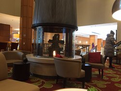 Amazing lobby with a nice restaurant and lounge area. Held a meeting here with a client.