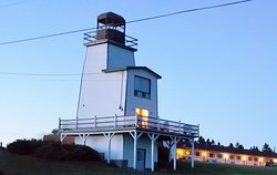Lighthouse and Beach Motel