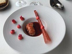 Un plat :le homard revisité