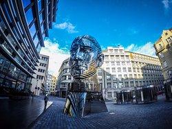 Statue of Franz Kafka