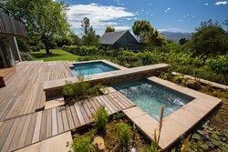 Heated plunge pool