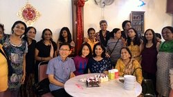 Celebrating my childhood friend's birthday with all the duchess travellers