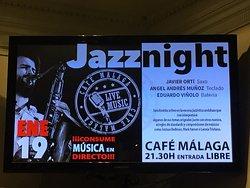Cafe Malaga - Live Music