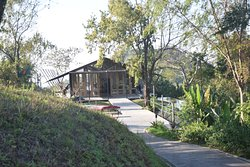 Exclusive resort in a remote hilly area