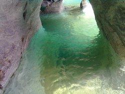 Interior de las cavernas