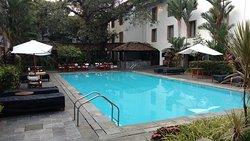 Swimming pool at Trident