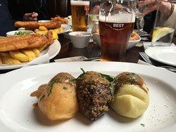 A memorable Scottish Pub Lunch