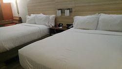 Beds were very comfortable-lots of pillows.