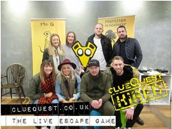 clueQuest - The Live Escape Room Game