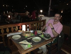 Incredible evening beautiful food and incredible staff best resturant in Dubai if you like Thai