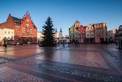 Market Square in Chojnice