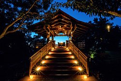Enjoy a privite dinner in the Treehouse, curated and prepared table side by our award-winning ch