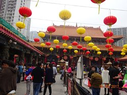 Wong Tai Sin Temple Spring Festival Ceremony