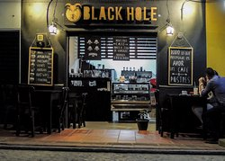 Black Hole Cafe