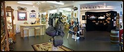 Interior of main showroom. We have 1600+ square feet with over 50 local PNW artists!