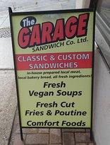 ‪The Garage Sandwich Co. Ltd.‬