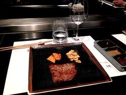 Entrecôte de bœuf Wagyu du Japon