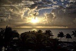 view from room overlooking the ocean...