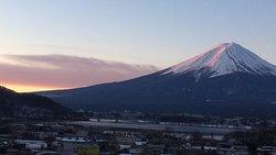 夜明け直後の富士山 (2017/01/27)