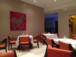 Inside dining area at Seasons