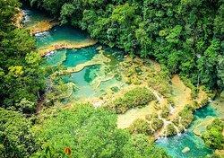 Parque Nacional Grutas de Lanquin