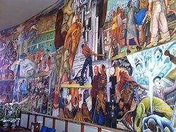 Diego Rivera's Pan American Unity Mural