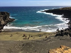 South Point (Ka Lae) e Green Sand Beach