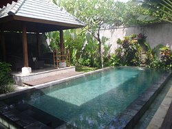 Our pool, Villa Tulip