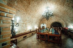 Wine cellar of the Moravian Bank of wine