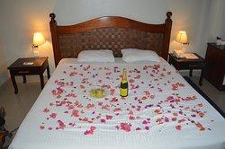 Standard room at Le Grand bleu Hotel