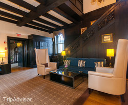 Lobby at the Castle Hotel & Spa