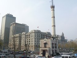 Shanghai Bund Weather Signal Station