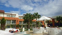 Nice resort, GREAT staff, beautiful beach, maybe I'm jaded