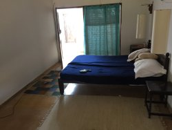 Open Shower, Bathrooms of different rooms, one of the Bedrooms and Approach Road to Resort...