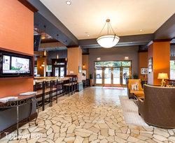 Lobby at the Emily Morgan Hotel - A DoubleTree by Hilton