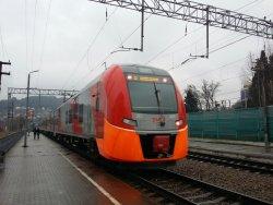 High-speed Train Lastochka