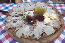 """A must for tourists wanting to try the traditional Bavarian  """"Schweinebraten & Knödel"""""""
