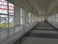 enclosed walk ways