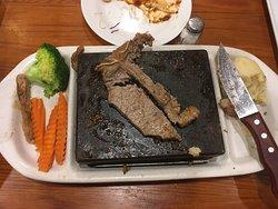 Steak On The Rocks