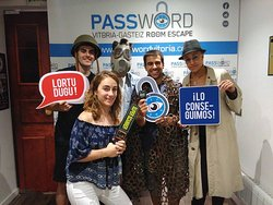 Password Vitoria Room Escape