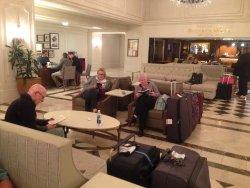 Astor hotel foyer