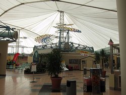 Crystal River mall canvas roof
