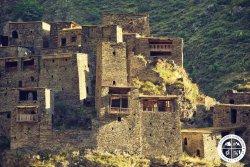 Shatili Medieval Fortress Village