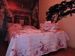 Essa é a suite em que fiquei com minha namorada... É um tema japonês... bem legal...