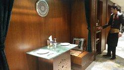 @Chapatti Amman JORDAN Nice area for 2 diners